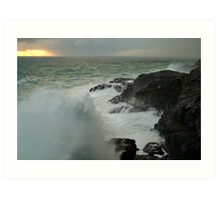 Storm,Cape Bridgewater Art Print