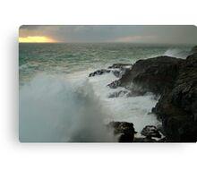 Storm,Cape Bridgewater Canvas Print