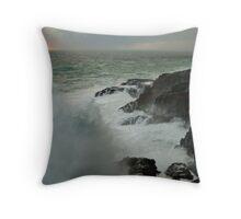 Storm,Cape Bridgewater Throw Pillow