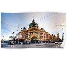 Station Street Flinders Poster