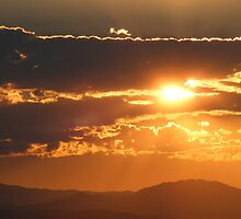 Summer Sun over the Rockies by Thomas Stevens