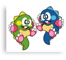 Bubble Bobble Canvas Print