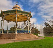 Rotunda Elder Park Adelaide by Frank Moroni