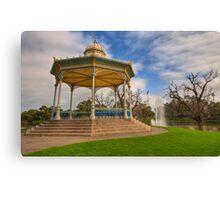 Rotunda Elder Park Adelaide Canvas Print
