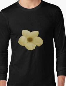 Potato Flower - Yellow Long Sleeve T-Shirt