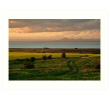 Corio Bay Sunset,Bellarine Peninsula Art Print