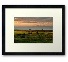 Corio Bay Sunset,Bellarine Peninsula Framed Print