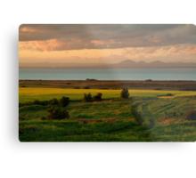 Corio Bay Sunset,Bellarine Peninsula Metal Print