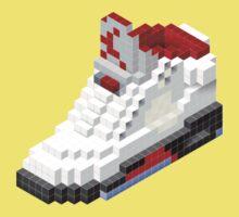 Air jordan V cube pixel Kids Tee