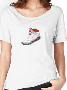 Air jordan V cube pixel Women's Relaxed Fit T-Shirt