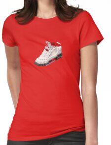 Air jordan V cube pixel Womens Fitted T-Shirt