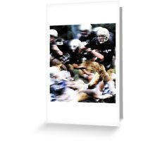 return to victory! Greeting Card