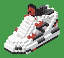 The Pump Pixel 3D Sneaker Kids Tee