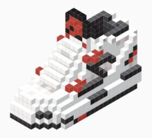 The Pump Pixel 3D Sneaker Kids Tee