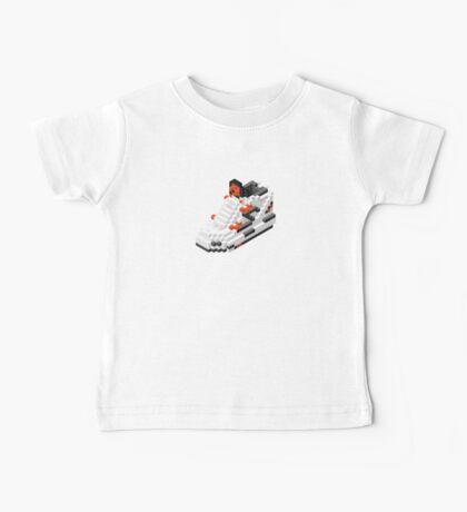 The Pump Pixel 3D Sneaker Baby Tee
