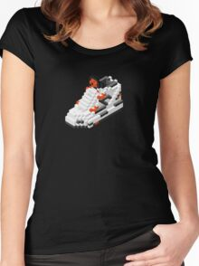 The Pump Pixel 3D Sneaker Women's Fitted Scoop T-Shirt