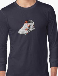 The Pump Pixel 3D Sneaker Long Sleeve T-Shirt