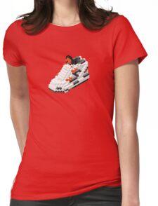 The Pump Pixel 3D Sneaker Womens Fitted T-Shirt