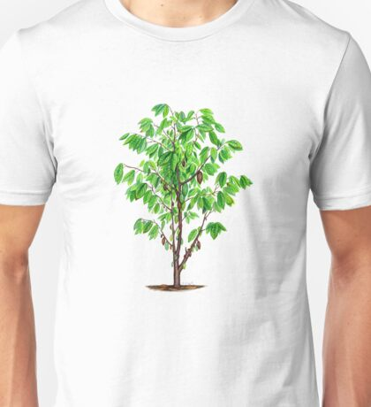 Cacao Tree (Theobroma cacao) Unisex T-Shirt