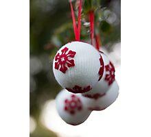 non-sparkly Christmas Photographic Print