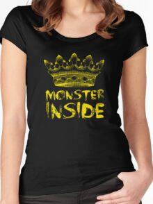 Monster Inside Women's Fitted Scoop T-Shirt