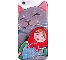 Russian Blue and Babushka iPhone Case/Skin