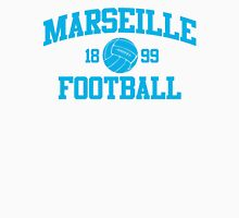 Marseille Football Athletic College Style 2 White Unisex T-Shirt