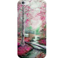 Memory of Woodland Creek iPhone Case/Skin