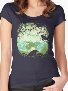 Sound of Nature II Women's Fitted Scoop T-Shirt