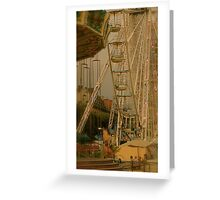 The End of the Day at the Fair Greeting Card