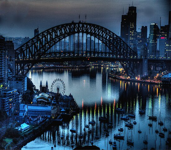 Double Vision - Moods Of A City The HDR Experience by Philip Johnson