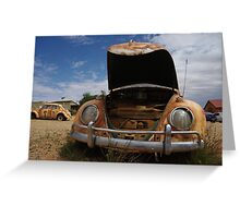 Outback Bug 02 Greeting Card