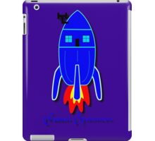Future Spaceman design iPad Case/Skin