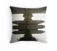 The Tabernacle Reflection. Throw Pillow