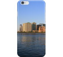 Lower Jersey City On The Hudson Rv. iPhone Case/Skin