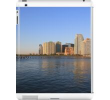 Lower Jersey City On The Hudson Rv. iPad Case/Skin