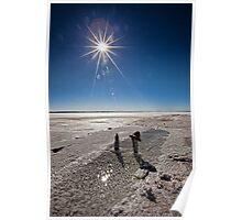 Wherever I Lay My Hat • Lake Hart • South Australia Poster