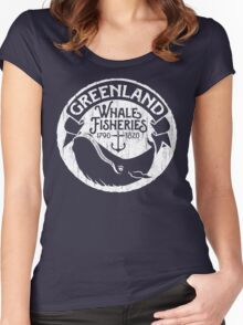 Greenland Whale Fisheries Women's Fitted Scoop T-Shirt