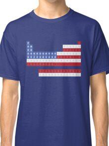 Patriotic Periodic Classic T-Shirt