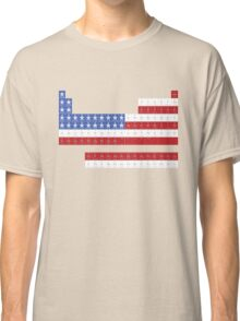Patriotic Periodic Classic T-Shirt