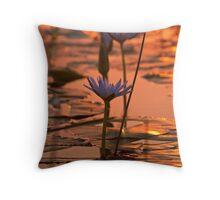 Sunset Lily - Taree NSW Throw Pillow