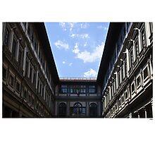 Postcard from the Uffizi Photographic Print