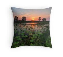 Welcome Sunset - Taree NSW Throw Pillow