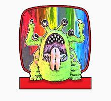 Angry Rainbow Alien Unisex T-Shirt