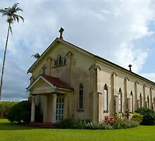 Old Church - Tully - Queensland by Anthony Wilson