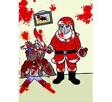 The Serial Santa  Photographic Print