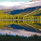 Upper Twin Lake, Beaverhead County, Montana by Bryan D. Spellman