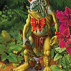 Shapeless the Forest Troll loves Christmas by Danny Willis