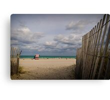 Summers' End Canvas Print