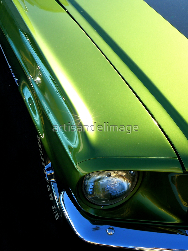 Perspective In Green by artisandelimage